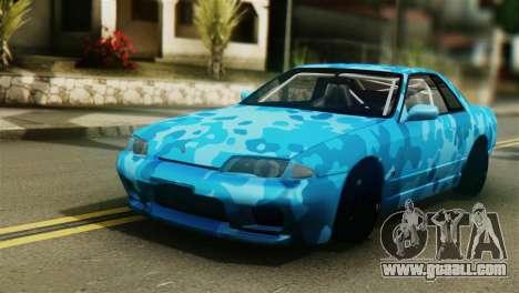 Nissan Skyline R32 Camo Drift for GTA San Andreas