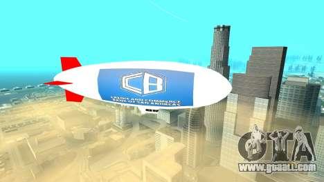 Advertising blimps for GTA San Andreas second screenshot