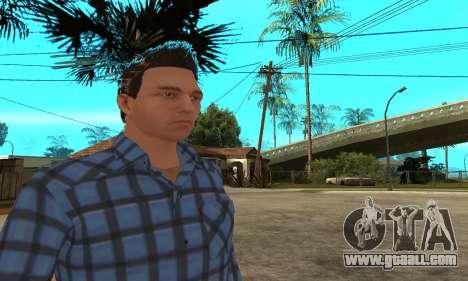 Skin Claude [HD] for GTA San Andreas
