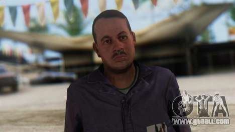 Uborshik Skin from GTA 5 for GTA San Andreas third screenshot
