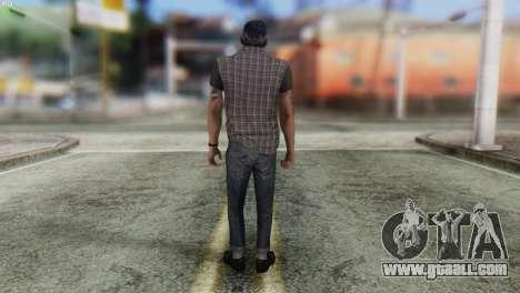 Biker Skin from GTA 5 for GTA San Andreas second screenshot