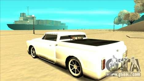 Slamvan Final for GTA San Andreas bottom view