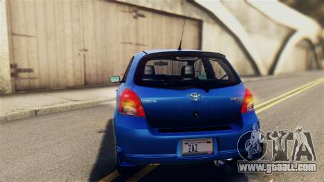 Toyota Yaris S 2008 for GTA San Andreas side view