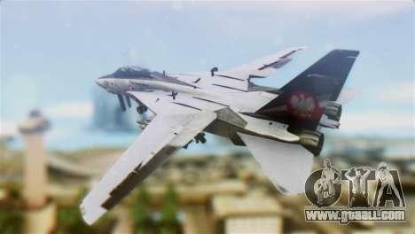 F-14D Super Tomcat Polish Navy for GTA San Andreas left view
