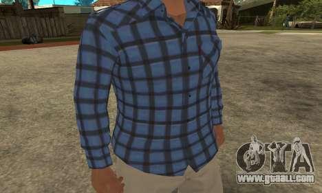 Skin Claude [HD] for GTA San Andreas second screenshot
