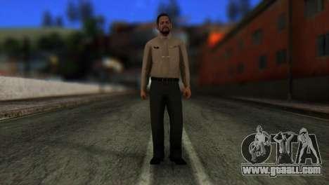 GTA 5 Skin 5 for GTA San Andreas