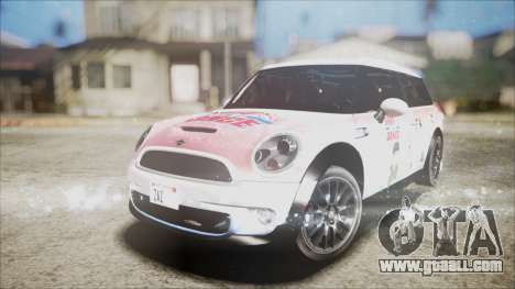 Mini Cooper Clubman 2011 Sket Dance for GTA San Andreas bottom view