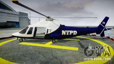 Buckingham Swift NYPD for GTA 4 left view