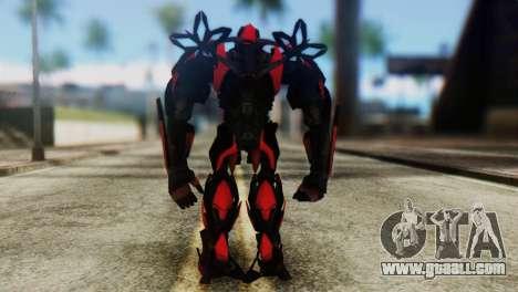 Stinger Skin from Transformers for GTA San Andreas third screenshot