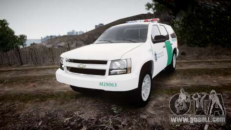 Chevrolet Tahoe Border Patrol [ELS] for GTA 4