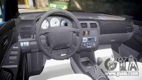 Mazda 626 for GTA 4 back view