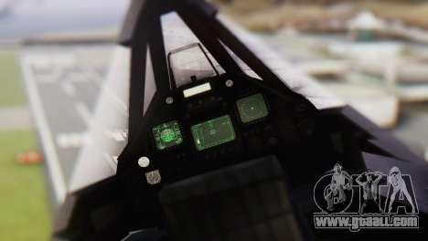 Lockheed F-117 Nighthawk ACAH for GTA San Andreas right view