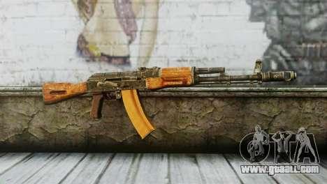 AK-74 for GTA San Andreas