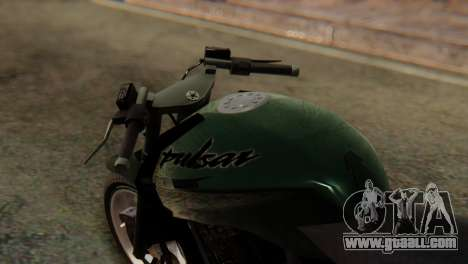 Bajaj Rouser 135 Stunt for GTA San Andreas right view