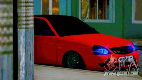 Lada 2170 Priora Spartak Moscow for GTA San Andreas interior
