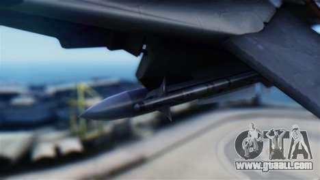 F-14D Super Tomcat Halloween Pumpkin for GTA San Andreas right view