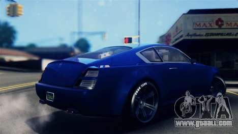 GTA 5 Enus Windsor IVF for GTA San Andreas left view