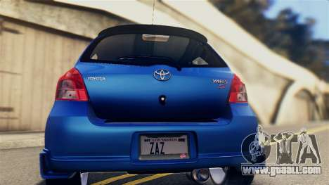 Toyota Yaris S 2008 for GTA San Andreas right view