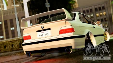 BMW M3 E36 Stance for GTA San Andreas left view
