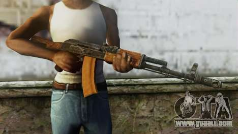 AK-74 for GTA San Andreas third screenshot