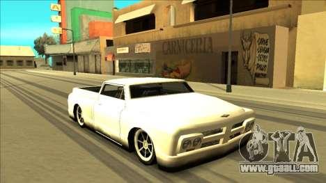 Slamvan Final for GTA San Andreas wheels