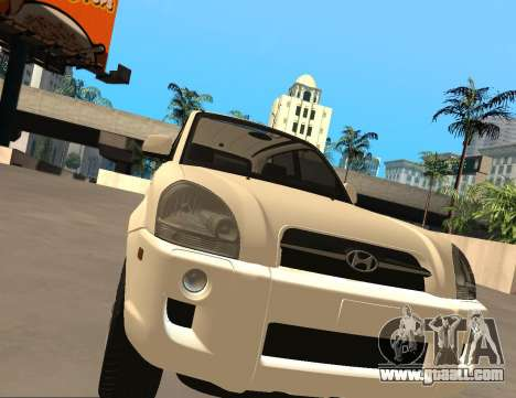 Hyundai Tucson for GTA San Andreas left view