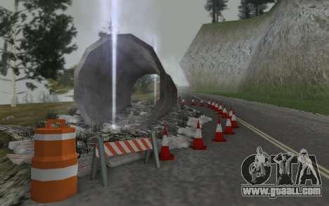 Road repair for GTA San Andreas