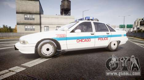 Chevrolet Caprice Chicago Police [ELS] for GTA 4 left view