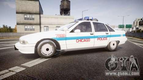 Chevrolet Caprice Chicago Police [ELS] for GTA 4 left view