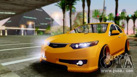 Acura TSX Hellaflush 2010 for GTA San Andreas left view