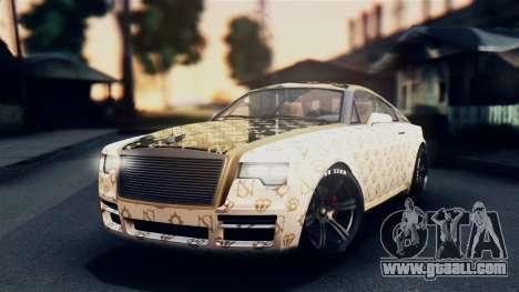 GTA 5 Enus Windsor IVF for GTA San Andreas inner view
