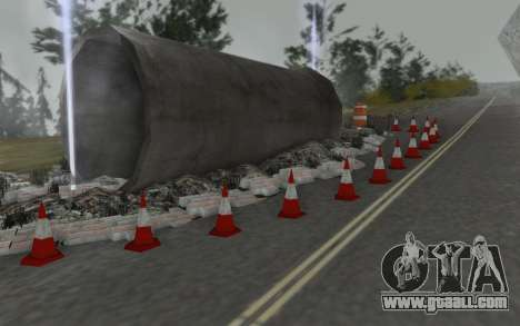 Road repair for GTA San Andreas forth screenshot
