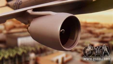 Airbus A330-200 Garuda Indonesia Sky Team for GTA San Andreas right view