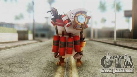 Clockwerk Skin from DoTA 2 for GTA San Andreas third screenshot