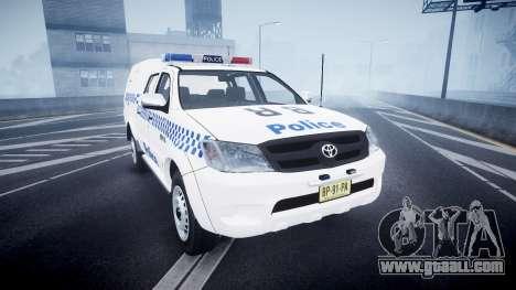 Toyota Hilux NSWPF [ELS] for GTA 4