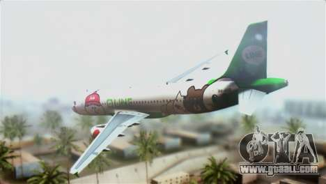 Airbus A320-200 AirAsia Line for GTA San Andreas left view