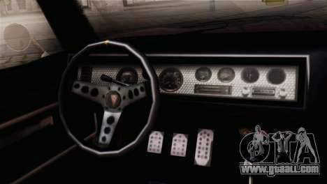 GTA 5 Imponte Dukes IVF for GTA San Andreas right view