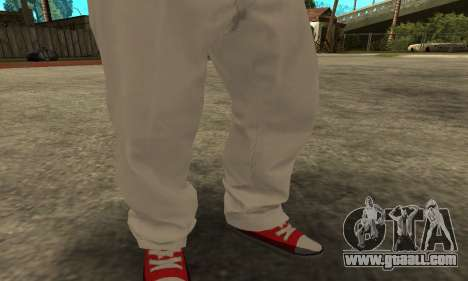 Skin Claude [HD] for GTA San Andreas third screenshot