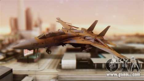 F-14A Tomcat NSAWC Brown for GTA San Andreas