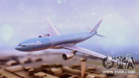 Airbus A330-200 KLM New Livery for GTA San Andreas