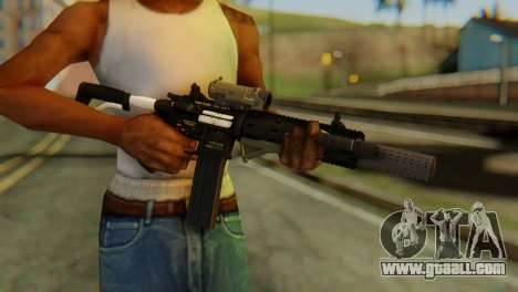 Carbine Rifle from GTA 5 v2 for GTA San Andreas third screenshot