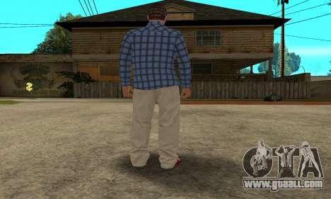 Skin Claude [HD] for GTA San Andreas sixth screenshot