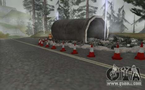 Road repair for GTA San Andreas third screenshot