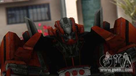 Autobot Titan Skin from Transformers for GTA San Andreas third screenshot