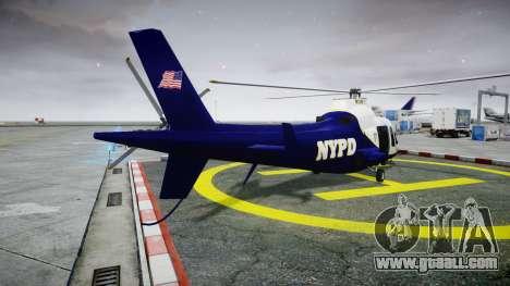 Buckingham Swift NYPD for GTA 4 back left view