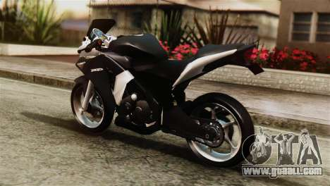 Honda CBR250R for GTA San Andreas left view