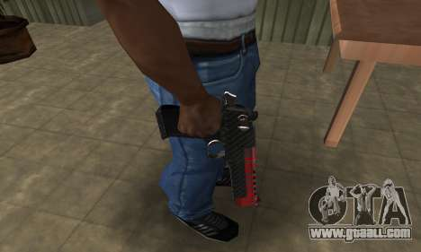 Red Tiger Deagle for GTA San Andreas second screenshot