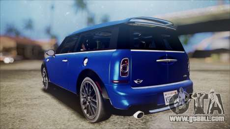 Mini Cooper Clubman 2011 Sket Dance for GTA San Andreas left view