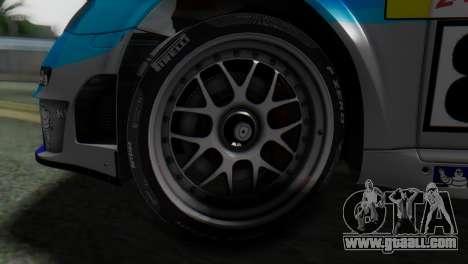 Porsche 911 GT3-RSR for GTA San Andreas back left view
