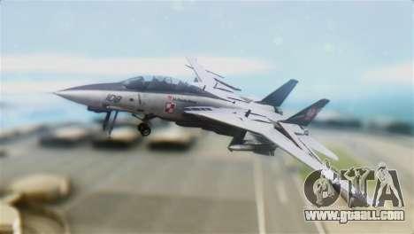 F-14D Super Tomcat Polish Navy for GTA San Andreas